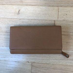 Brown coach wallet